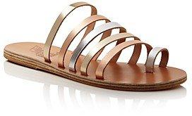 Women's Niki Metallic Leather Sandals