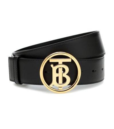 Tb Leather Belt - Burberry | Mytheresa