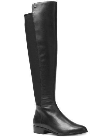 Michael Kors Bromley Leather Riding Boots & Reviews - Boots - Shoes - Macy's