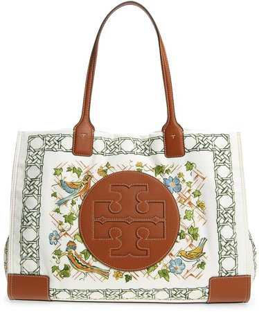 Ella Print Recycled Polyester Tote