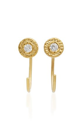 18K Gold Diamond Earrings by Octavia Elizabeth | Moda Operandi