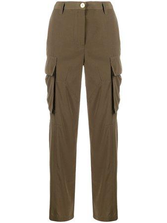 Versace Oversized Pockets Cargo Trousers Aw20 | Farfetch.Com