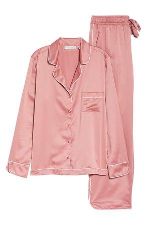 Rachel Parcell Satin Pajamas (Nordstrom Exclusive) | Nordstrom
