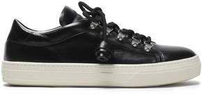 Tasseled Leather Sneakers