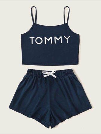 SHEIN Tommy Hilfiger Pyjamas
