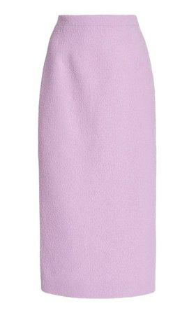 Boucle Tweed Midi Pencil Skirt By Alessandra Rich | Moda Operandi
