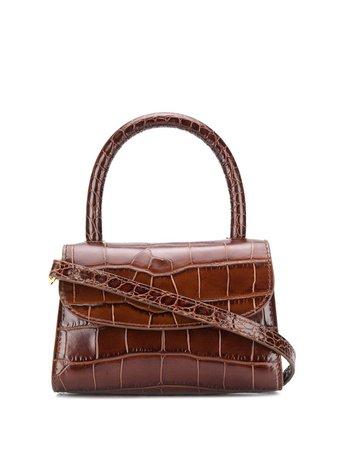 By Far Crocodile-Embossed Tote Bag Ss20 | Farfetch.com