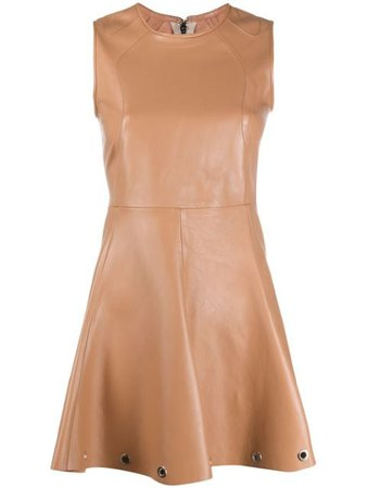Manokhi Flared Mini Dress - Farfetch