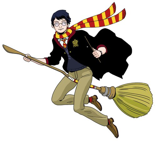 harry potter flying drawings - Google Search