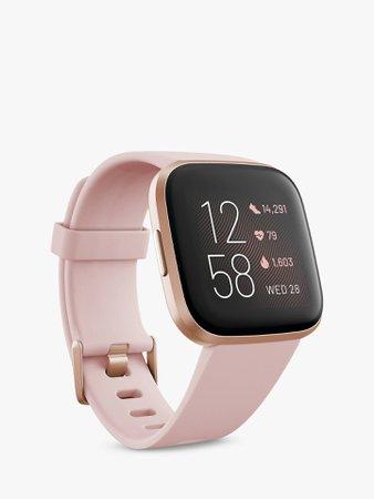 Fitbit Versa 2 Smart Fitness Watch at John Lewis & Partners