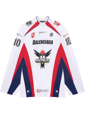 Balenciaga t-shirt Med Hockeypanel - Farfetch