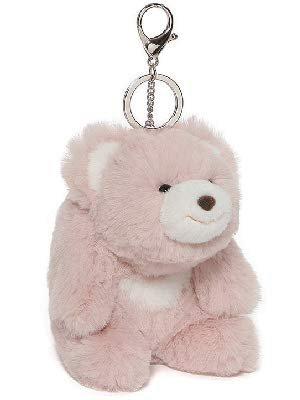 "Amazon.com: GUND Snuffles Teddy Bear Stuffed Animal Plush Keychain, Rose Pink, 5"": Toys & Games"