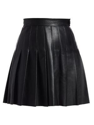 Maje Jabaki Pleated Skirt