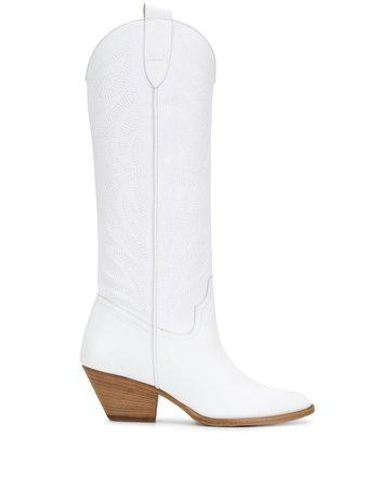 Pinko knee-high Cowboy Boots - Farfetch