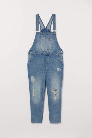 H&M+ Denim Bib Overalls - Blue