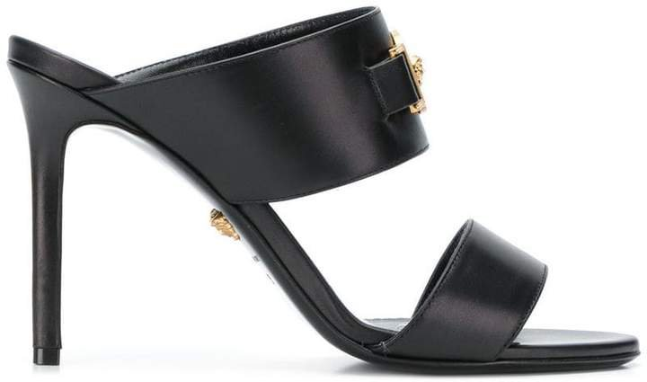 Medusa open-toe sandals