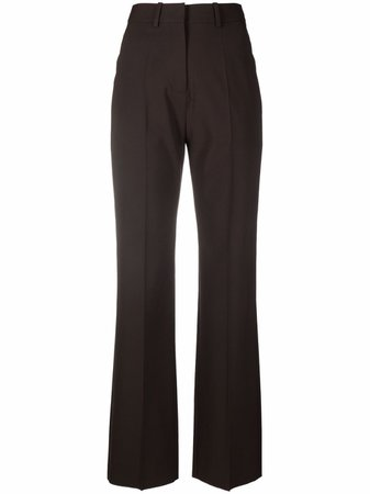Shop Valentino tailored straight-leg trousers with Express Delivery - FARFETCH
