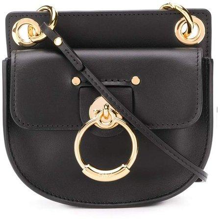 mini Tess leather crossbody bag