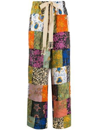 Loewe Pantaloni Stampa - Farfetch