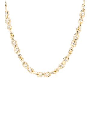 Sarah Curb Chain Necklace