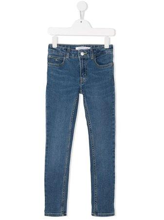 Calvin Klein Kids High-Rise Skinny Jeans | Farfetch.com