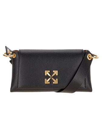 Off White Arrow 19 Leather Shoulder Bag