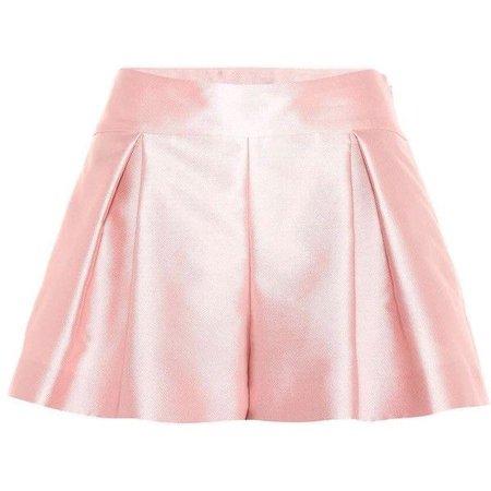 REDValentino Plissee Shorts ($355)