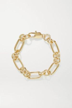 Gold Rafaella gold-plated bracelet | Laura Lombardi | NET-A-PORTER