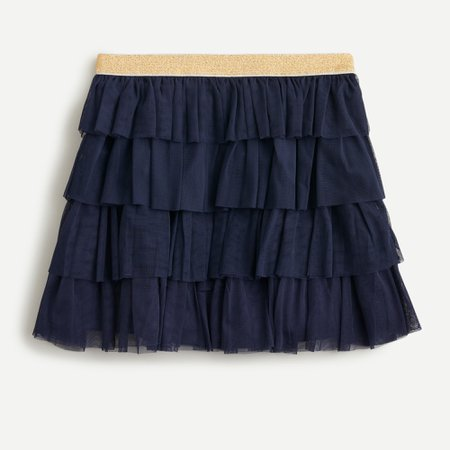 J.Crew: Girls' Tiered Skirt