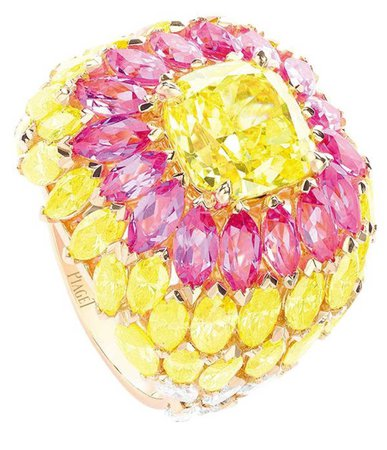 piaget colorful ring