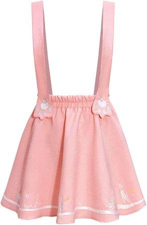 pink skirt kawaii