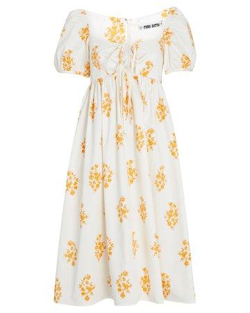 Ciao Lucia Alessia Floral Midi Dress   INTERMIX®