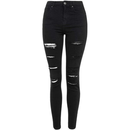 black ripped jeans - Google Search