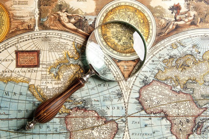map magnifying glass