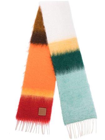 LOEWE Stripe Scarf - Farfetch