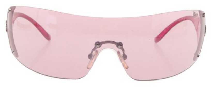CHRISTIAN DIOR Pink Sunglasses