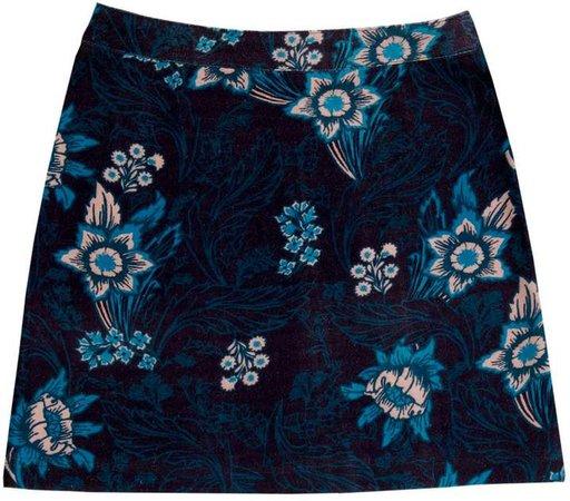 Birdsong Floral A-Line Skirt