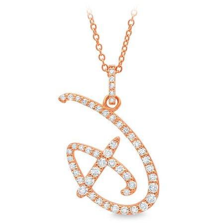 Walt Disney World Initial Necklace by CRISLU | shopDisney