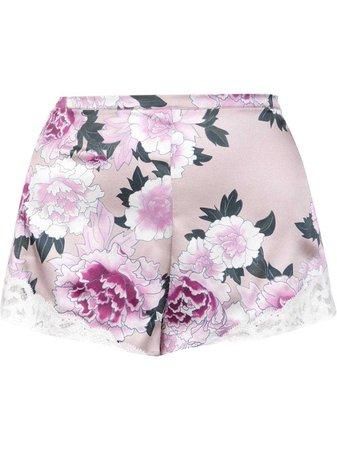 Floral Pajama Shorts