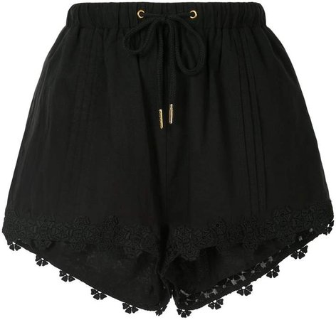 Beatrix embroidered shorts