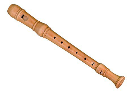 wooden recorder