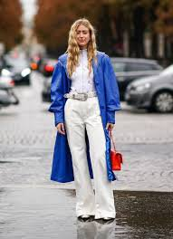 classic blue fashion - Google Search