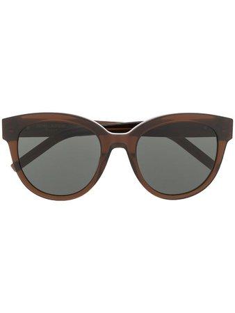 Saint Laurent Eyewear Cat Eye Sunglasses - Farfetch