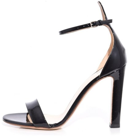Ankle Strap Sandal in Black