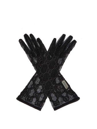 Gants en dentelle à motif GG | Gucci | MATCHESFASHION.COM FR
