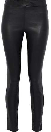 Adbelle Leather Skinny Pants
