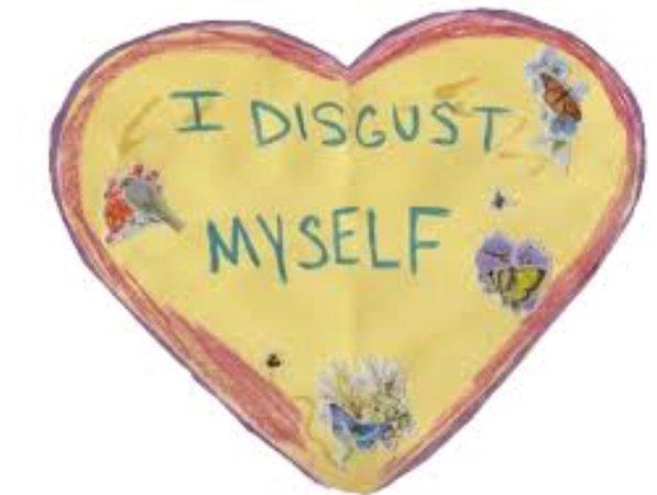 i disgust myself heart #cottagecore #soft #grunge #heart #cute #valentine #valentine's