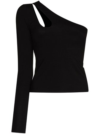 Reformation one-shoulder cut-out Top - Farfetch