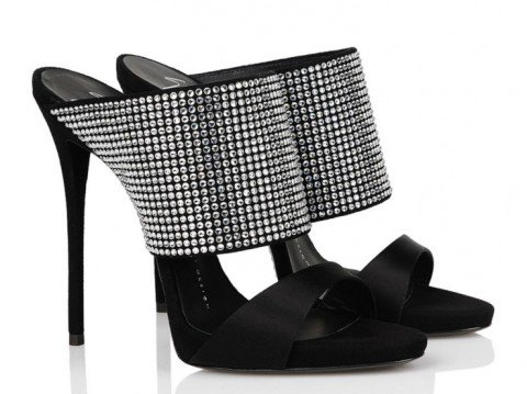 80s inspires Giuseppe Zanotti's fall / winter 2014 collection   High Heels Daily