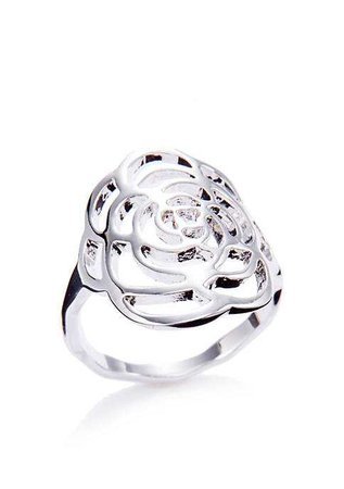 New Directions® Silver-Tone Flower Ring | belk